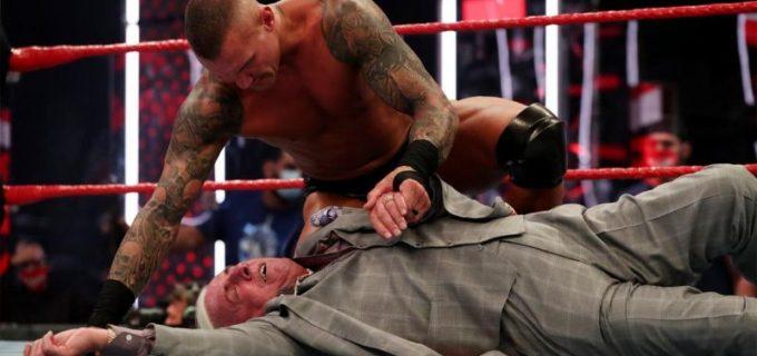 "【WWE】""レジェンドキラー""オートンが老齢のフレアーをローブロー&パントキックでKO"