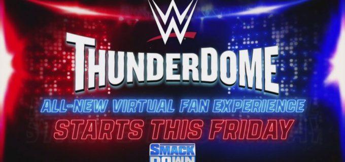 【WWE】最先端技術を駆使したバーチャル観戦「WWEサンダードーム」を導入