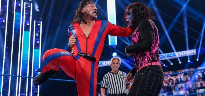 【WWE】タッグ王者中邑真輔がジェフ・ハーディのIC王座に挑戦も2冠届かず