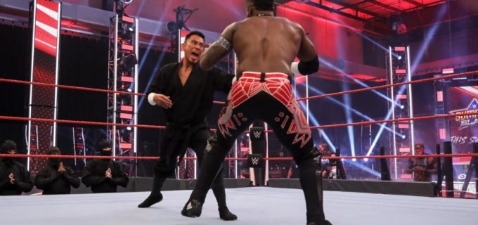 【WWE】戸澤陽が忍術決まらず24/7王座戦で無念の敗戦