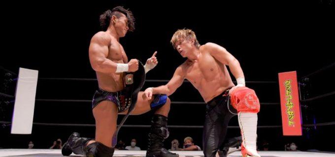 【DDT】KO-D無差別級王者・遠藤哲哉が田中稔を破り「KING OF DDT」トーナメント準決勝進出!