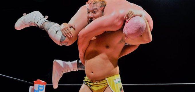 【ZERO1】田村ハヤトがクリス・ヴァイスを撃破し世界ヘビー王座奪取!