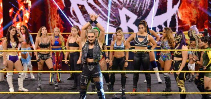 【WWE】王者紫雷イオとバトルロイヤルを制したキャンディス・レラエのNXT女子王座戦が決定