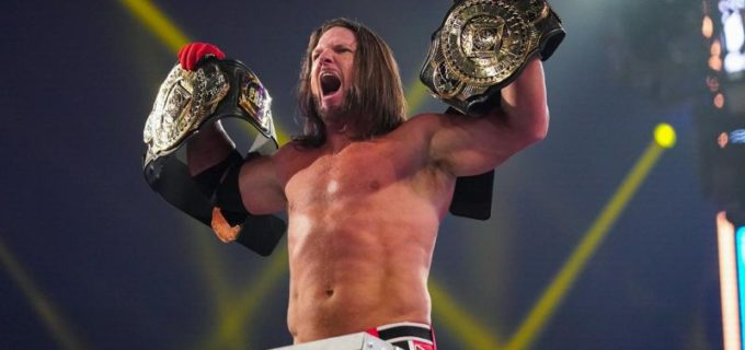 "【WWE】AJスタイルズがゼインの前哨戦""横取り""勝利に怒りのラダー襲撃"