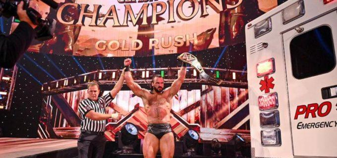 【WWE】マッキンタイアがレジェンドの逆襲&キック・トゥ・ザ・スカル弾でオートンを病院送り