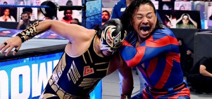 【WWE】中邑真輔がキンシャサでメタリックとの前哨戦を制す