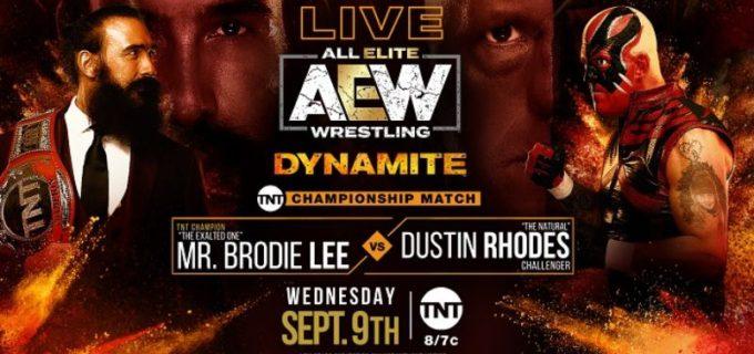 【AEW】9.9 AEWダイナマイト<全試合結果>元WWEのルセフことミロが登場!クリス・ジェリコはジェイク・ヘイガーとタッグベルト狙いに!ケニー・オメガはシングル戦線復帰を宣言!ブロディ・リーがTNT王座を防衛