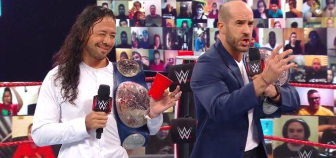 【WWE】中邑&セザーロとストリート・プロフィッツのタッグ王者対決が次週決定