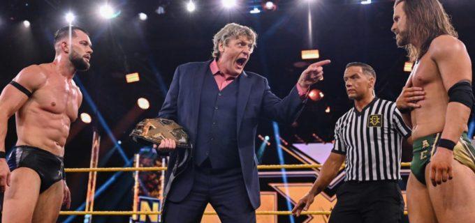 【WWE】NXT王座決定60分アイアンマン戦はベイラーとコールがタイとなって次週王座決定の直接対決へ