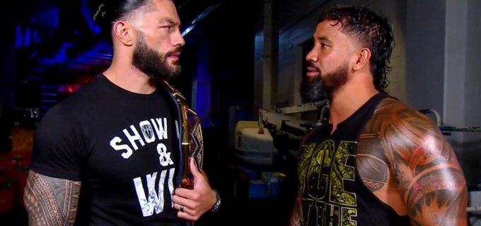 【WWE】新王者レインズと従兄弟ジェイ・ウーソズの王座戦がPPV「クラッシュ・オブ・チャンピオンズ」で決定!