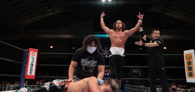 【新日本】ジュースが新コスチュームでBブロックの開幕YOSHI-HASHI戦を勝利!9.20 G1 CLIMAX 30 Bブロック開幕戦 in 大阪