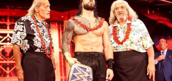 【WWE】レインズがウーソ兄弟をギロチンで締め落として王座防衛