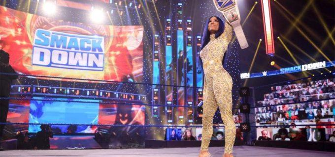 【WWE】新王者サーシャとベイリーの王座リマッチが次週のスマックダウンで決定