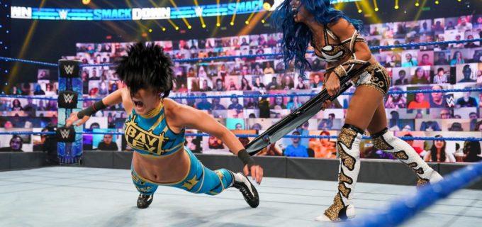 【WWE】王座を逃したサーシャがPPV「ヘル・イン・ア・セル」でベイリーに再戦要求