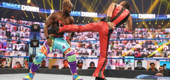 【WWE】中邑真輔&セザーロが復帰のニュー・デイに敗れて無念の王座陥落