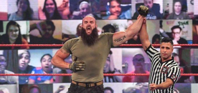 """【WWE】""""巨獣""""ストローマンと""""リミットレス""""リーがローブローの応酬"""
