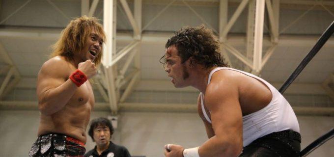 【新日本】内藤がジュースから単独トップの5勝目!内藤「彼には可能性を感じますよ。でもこの殻を破るのがすごく難しいわけでね」10.8 G1 CLIMAX 30 Bブロック in 岡山