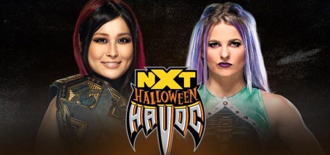 【WWE】王者紫雷イオとキャンディス・レラエのNXT女子王座戦が再び「NXT:ハロウィン・ハボック」で決定!
