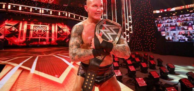 【WWE】オートンがマッキンタイアとの死闘の金網戦を制してWWE王座を戴冠