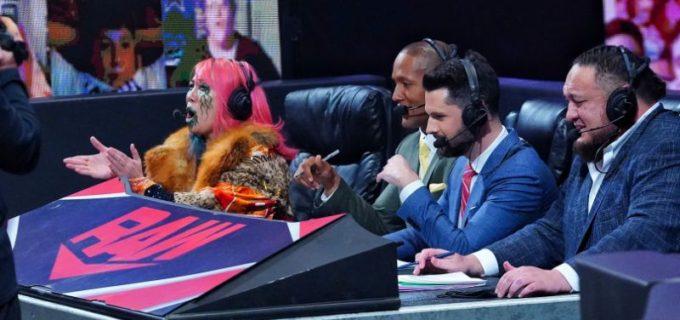 【WWE】王者アスカとバトルロイヤルを制したラナのロウ女子王座戦が決定