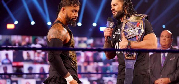 【WWE】王者レインズとの因縁が再燃したジェイ・ウーソが強豪AJスタイルズを撃破!