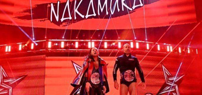 【WWE】中邑真輔&セザーロがルチャ・ハウス・パーティ相手の6人タッグ戦で勝利飾れず