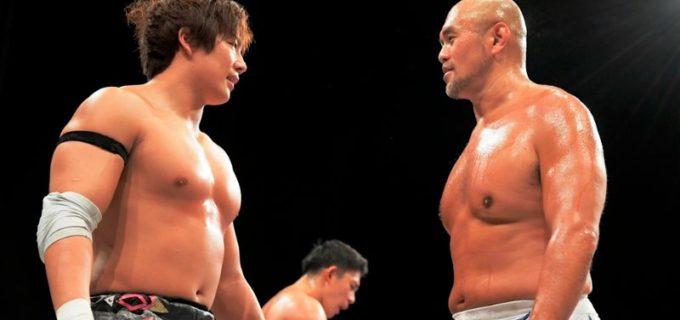 【DDT】11.3 DDT TV SHOWで秋山準と竹下が8人タッグで激突!秋山「キャリアとか関係ない」竹下「エクスプロイダーがかなり効いた」