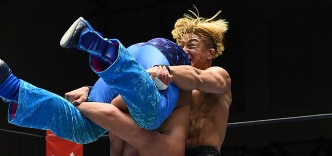 【新日本】SHOがショックアローでワトを撃破!「マスター・ワト! おめえは本当にすげーよ」<11.29後楽園>