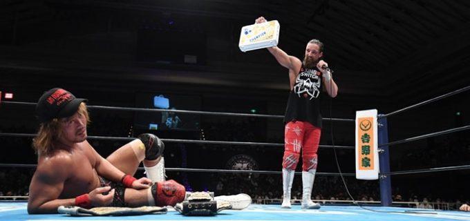 【新日本】内藤がEVILを撃破しドームのメインを死守!権利証マッチに勝利したジェイが1.5東京ドームでの二冠戦を要求!!