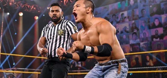 【WWE】KUSHIDAがサッチャーを撃破して連勝キープ「僕には戦いたい相手がいる」