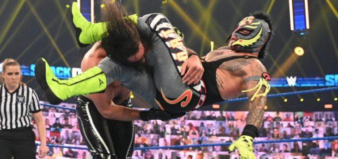 """【WWE】ミステリオが弟子に裏切られた""""救世主""""ロリンズを最終戦で撃破"""