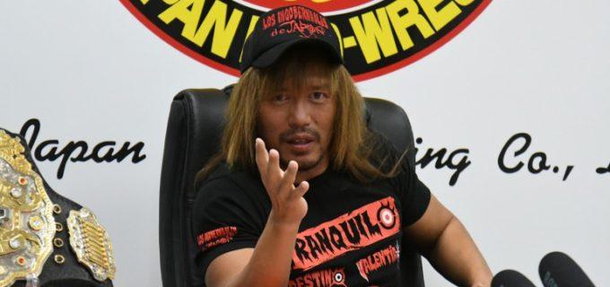 【新日本】内藤哲也が飯伏幸太、ジェイ・ホワイトとの東京ドーム2日連続での二冠戦を要求!