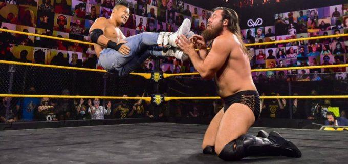 【WWE】KUSHIDAがグライムスを撃破して好調をキープ