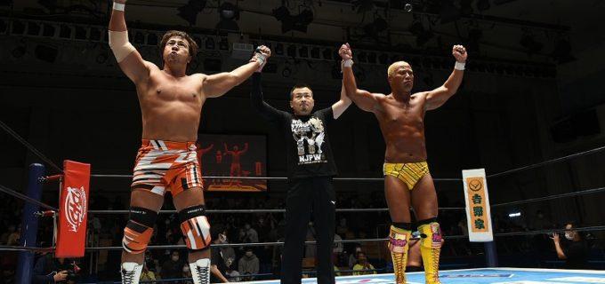 【新日本】<11.20後楽園>ゲイブの猛攻を凌いで小島が勝利!小島「全国の沢山のファンの皆様に、まだ小島聡は生きているということをみんなに教えてやろう」