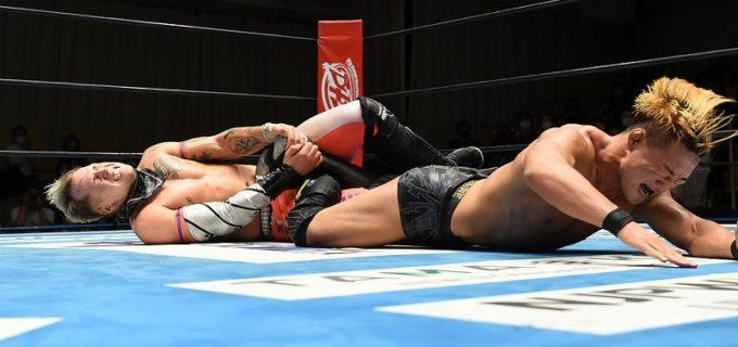 【新日本】<11.20後楽園>膝を痛めたSHOがロビーに惜敗!SHO「タップせずに耐えればよかったな、ちくしょう!」