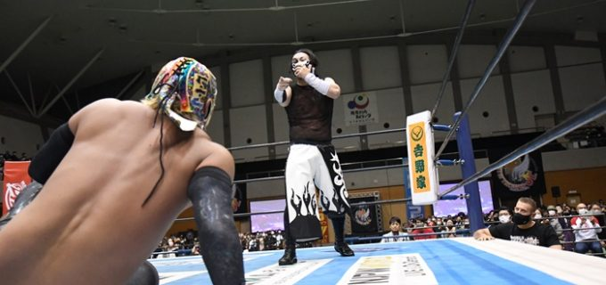 【新日本】DOUKIがBUSHIから2勝目をGET「最高の気分だよ」<12.5鹿児島大会>