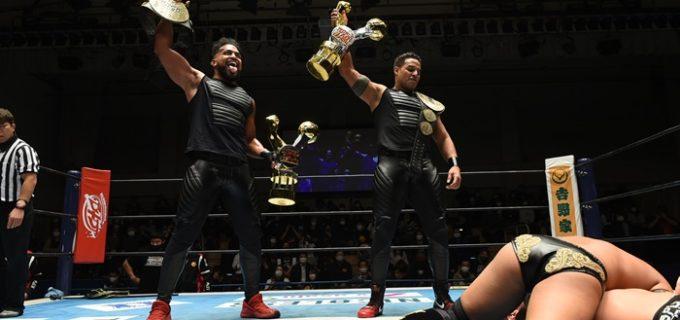 【新日本】<IWGPタッグ王座前哨戦>G.o.Dがタイチ&ザックを圧倒(12.22後楽園)