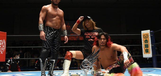 【新日本】SANADAがEVILに逆襲!ヒロムと石森はヒートアップ<12.22後楽園>