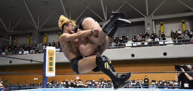 【新日本】SHOがショックアローで上村を仕留め6勝目!「今は『BEST OF THE SUPER Jr.』優勝、それしか考えてない」<12.5鹿児島大会>