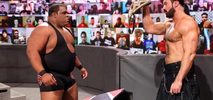 "【WWE】マッキンタイア対リーのWWE王座戦が2021年初回のロウ""レジェンズ・ナイト""で決定"