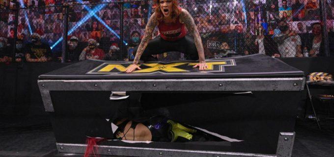 【WWE】王者紫雷イオがメルセデスに襲撃されて新たな遺恨が勃発