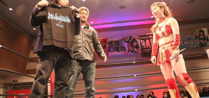 【アイスリボン】12.12 ラジアントホール「横浜リボン2020・Dec.」暴走大巨人コンビが『Evolution Girls』準備のために藤本つかさ戦を視察