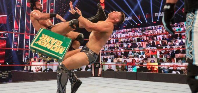 【WWE】マッキンタイアがキャッシュイン未遂のMr. MITBミズをクレイモア葬