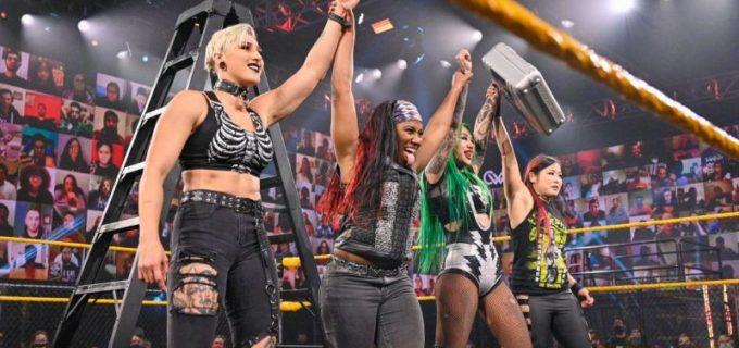 【WWE】紫雷イオが女子ウォーゲームズ戦のチーム・ショッツィに電撃加入