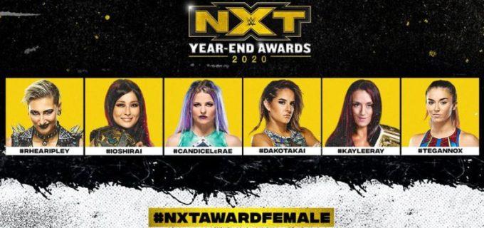 【WWE】紫雷イオが「NXTイヤーエンド・アワード2020」3部門にノミネート