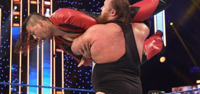 【WWE】中邑真輔がオーティスとのシングル戦で屈辱の敗戦