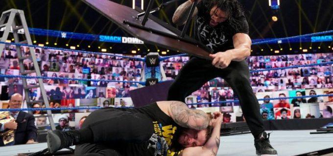"【WWE】オーエンズがレインズ&ジェイの暴行に屈せずに""死ぬ気""の王座奪取を宣言"