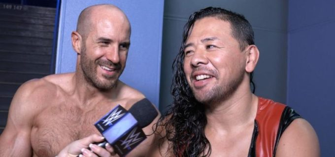 【WWE】中邑&セザーロがキンシャサ弾でオーティス&ゲイブルに快勝
