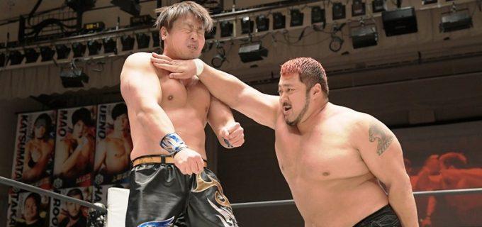 【DDT】「ダムネーション」に合流した元ZERO1・火野裕士が豪快に初陣飾った!