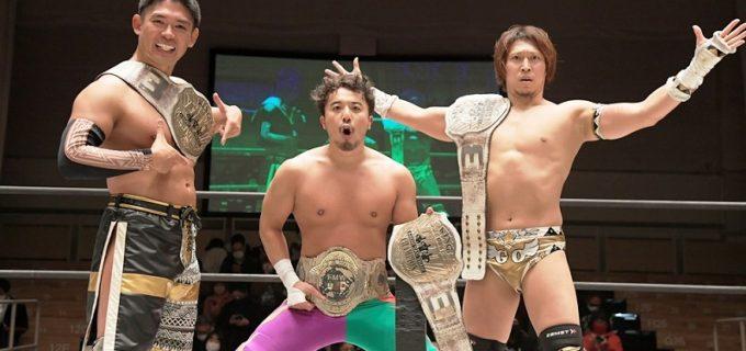 【DDT】来年1・9後楽園で翔太がUNIVERSAL王座に挑戦!2・23名古屋で高木&HARASHIMA&ディーノがKO-D6人タッグ王座にチャレンジ
